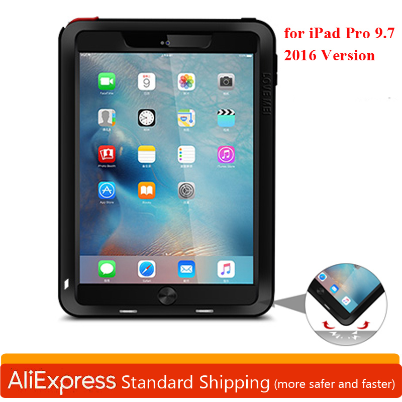 Powerful Aluminum Shockproof Funda for iPad PRO 9.7
