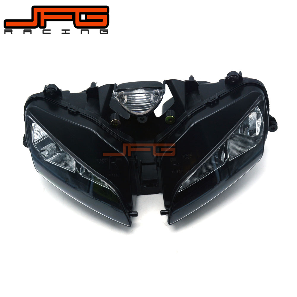 Clear Front Headlight Headlamp Street Fighter for Honda CBR600RR CBR 600RR CBR600 RR F5 2003-2006 2003 2004 2005 2006 for honda cbr600rr cbr 600rr 2003 2004 2005 2006 motorcycle folding extendable brake clutch levers logo cbr600rr