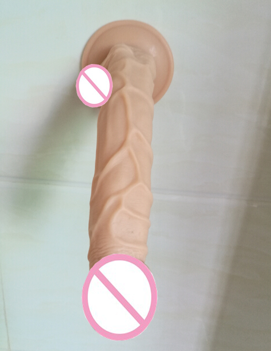 25.5*4CM Realistic soft Big Dildo Silicone Flexible Penis Dick With Strong Suction Cup Huge Dildos Cock Adult  Sex Toy for Women realistic big dildo penis dick with strong suction cup dildos butt plug prostate g spot female masturbation sex toys for women