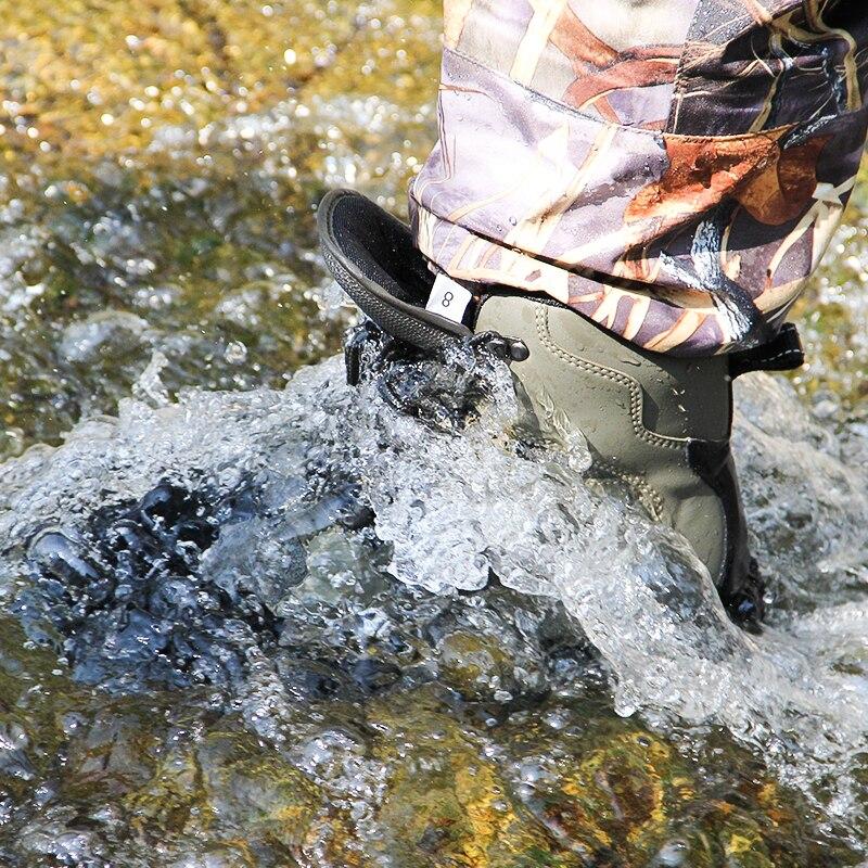 Qışda su keçirməyən balıqçılıq çəkmələri, dolğular - İdman ayaqqabıları - Fotoqrafiya 3