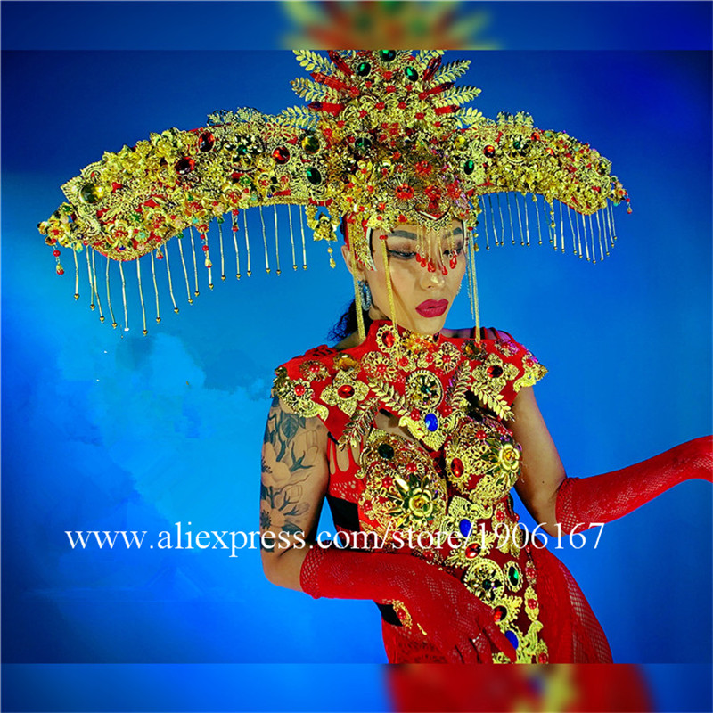 Women\'s Chinese style New Year\'s Day costumes dance team women\'s performance costumes03