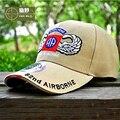 Ejército de Los Aficionados HAN WILD Marca Tapas de Tropas D82 Cappellino División Aerotransportada Tactical Gorra de Béisbol Casual Nuevo Ocio Sombrero de Béisbol Da