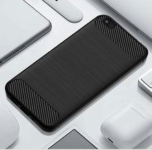 סיליקון פחמן טלפון מקרה עבור Xiaomi 5C 5X סיבי עמיד הלם TPU חזרה כיסוי עבור Xiomi Xiaomi5C Xiaomi5X 5 C X רך מוקשח שריון