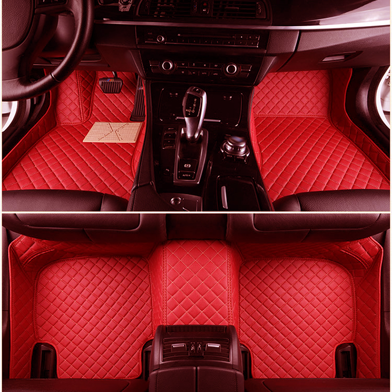 Custom fit car floor mats for Hyundai ix35 Ioniq Hybrid Honda Mazda Toyota Audi Nissan BMW Ford Peugeot car foot mats carpets car floor mats covers free shipping 5d for toyota honda for nissan hyundai buick for ford audi benz for bmw car etc styling