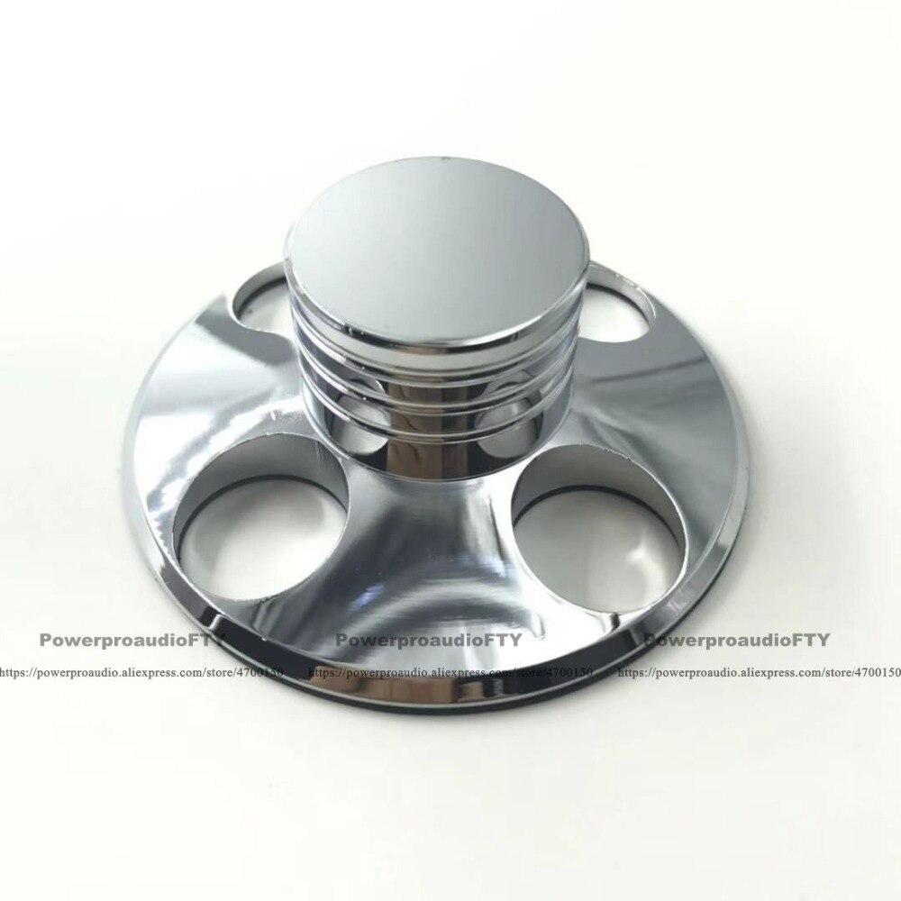 1 Stück Audio Lp Vinyl Plattenspieler Metall Disc Stabilisator Rekord Gewicht Clamp Silber Gl