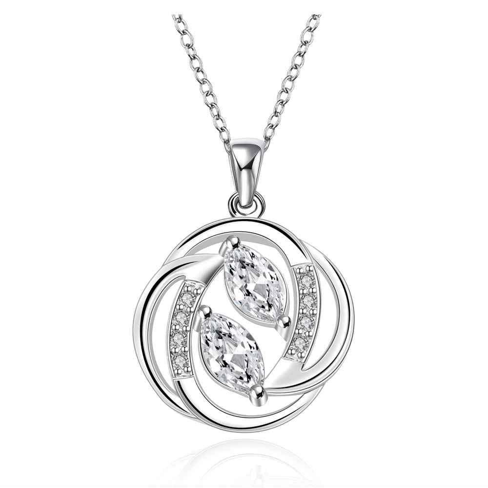 5c30ae65f99c Comercio al por mayor 2014 nueva moda plata plateada cadena tiempo ha  pasado Collares Colgantes para las mujeres hombres joyería smtn657