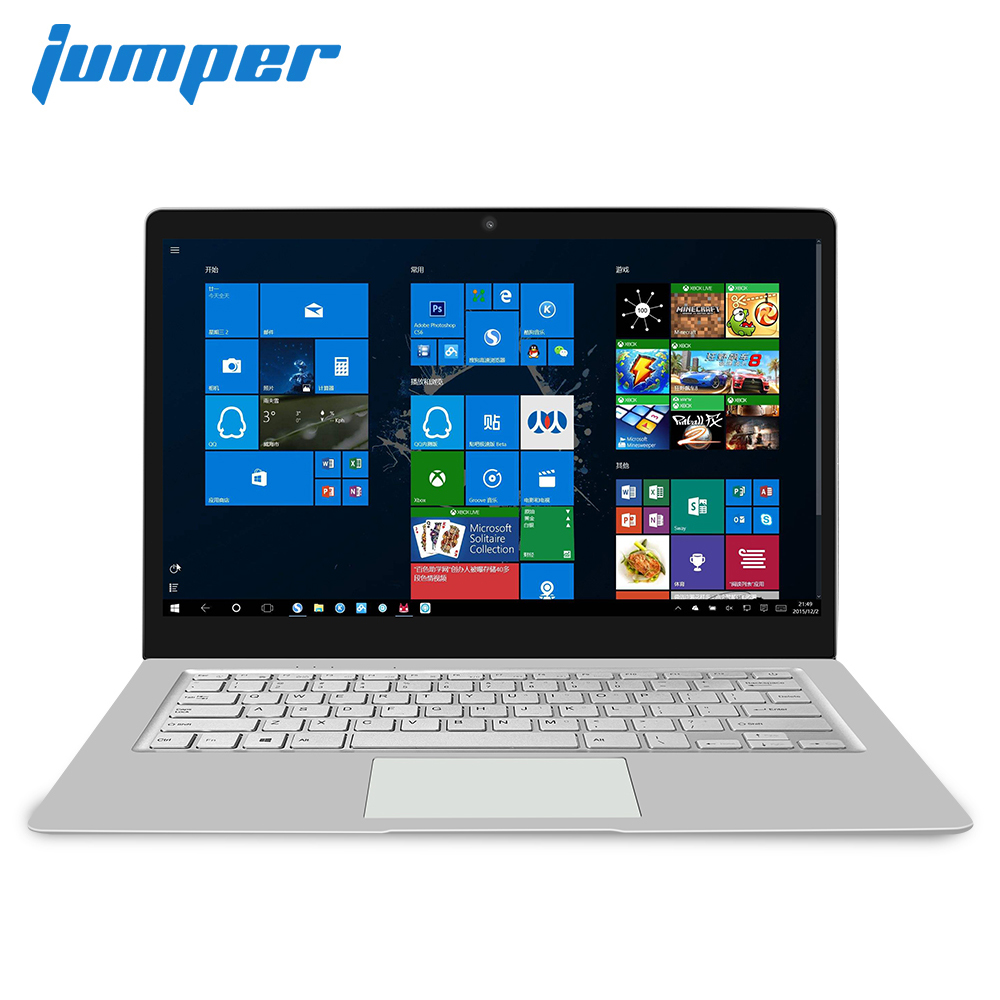 8GB RAM 128GB/256GB ROM Laptop Jumper EZbook S4 14 Inch Display Notebook Intel Celeron J3160 Ultrabook Dual Band WIFI Computer