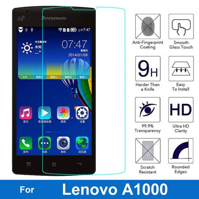 HP01 Pour Lenovo Un 1000 025mm LCD Trempe Protecteur Decran En Verre A1000 Arc Bord Dans Ecran Protecteurs De Telephones Portables Et Des