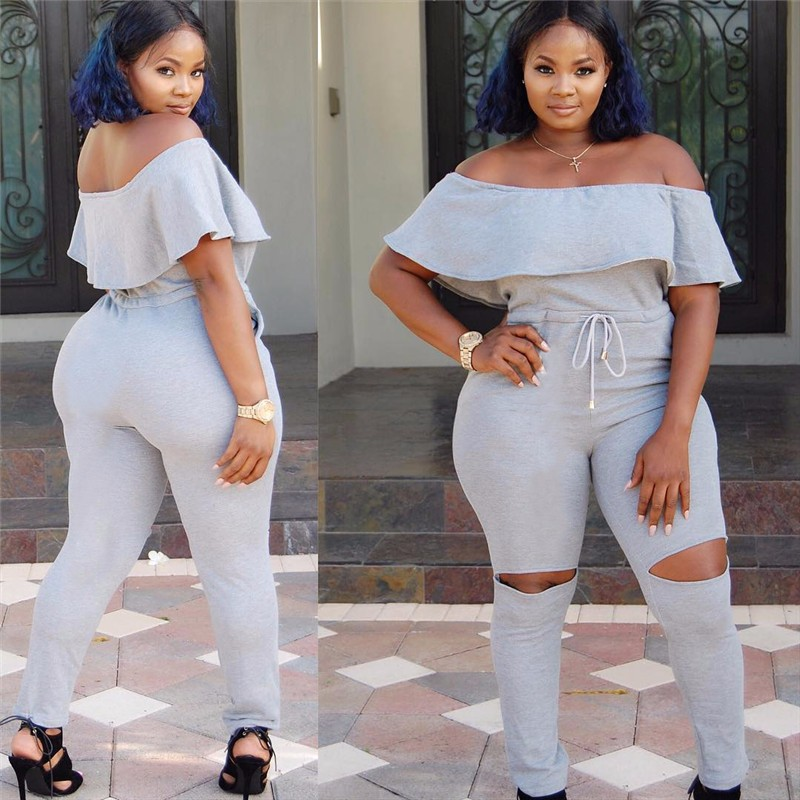 women strapless jumpsuit overall -6