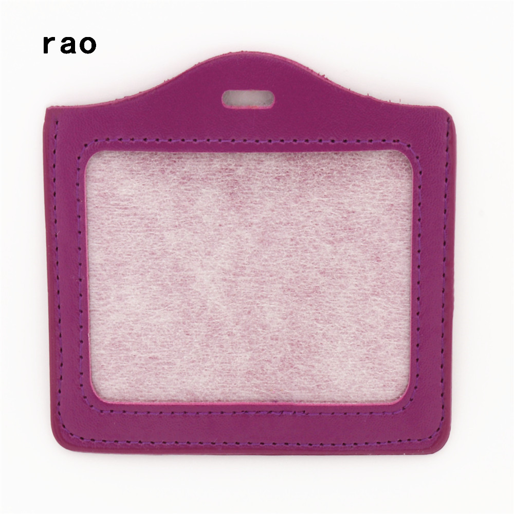 Роскошное Качество, 617 из искусственной кожи, материал, рукава для карт, наборы, ID значок, чехол, прозрачный, банк, держатель для кредитных карт, для школы, студента, офиса - Цвет: A9