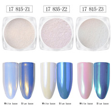 Magic Nail Shell Powder Metallic Mirror Effect Manicure DIY Decoration