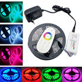 4M 5M 8M 10M LED Strip 5050 RGB non Waterproof tape light+18A RF Wireless Touch Remote Controller+12V  Power adapter