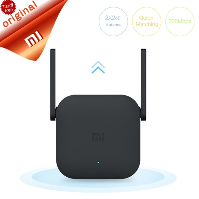 Orijinal Xiao mi Pro 300 M Wifi Amplifikatör 2.4G Wifi Tekrarlayıcı Sinyal Kablosuz Menzil Genişletici Roteader mi kablosuz Yönlendirici wi-fi