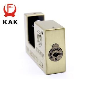 Image 2 - KAK E9 Series Archaize Super B Grade Padlocks Safe Anti Theft Lock Rustproof Antique Bronze Top Security Locks For Home Hardware