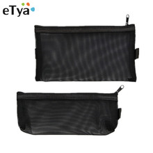 eTya Multifunction Fashion Women Mesh Small Cosmetic Bag Tra
