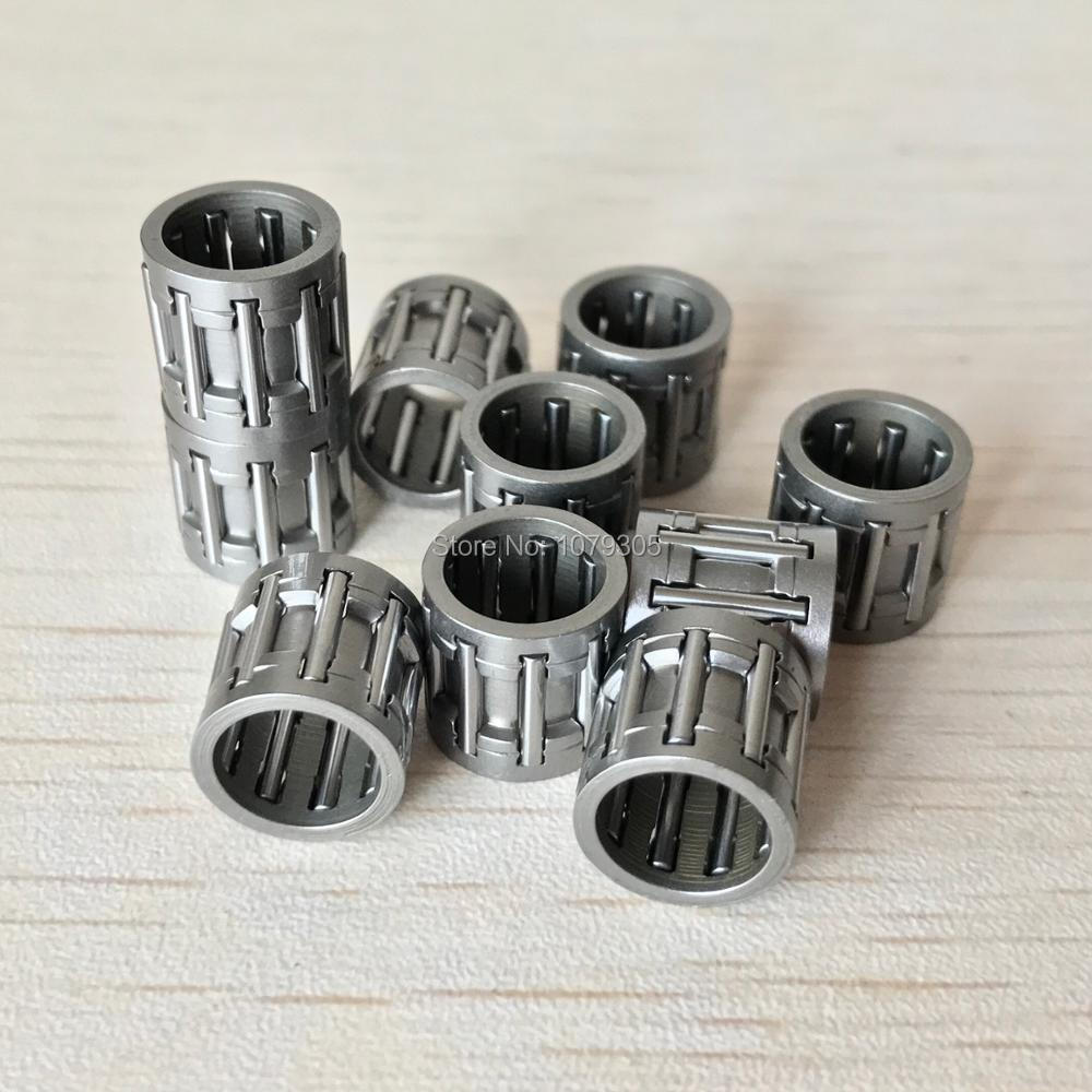 10pcs Piston Needle Bearing For 33cc 1E36F Brush Cutter Sprayer Cylinder Parts