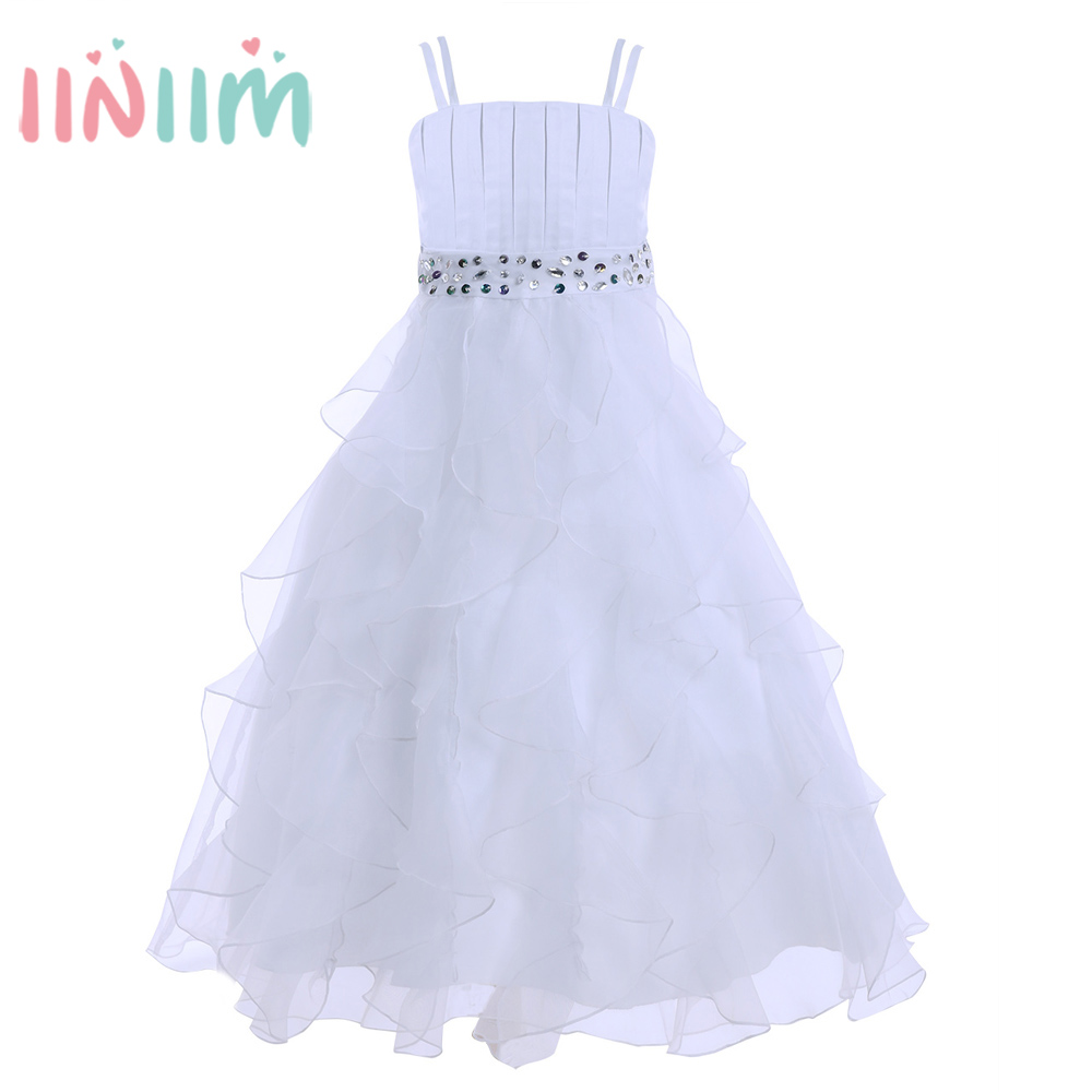 2017 Summer Princess Flower Girl Dress Tutu Wedding Birthday Party Dresses for Girls Children's Costume Teenager Prom Vestidos цена и фото