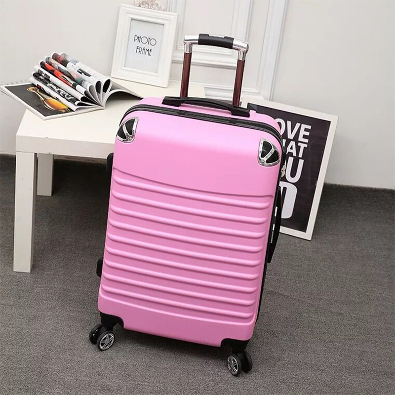 Fashion 20 inch rolling luggage trolley case women luggage spinner wheel travel luggage rolling suitcase extension Boarding box
