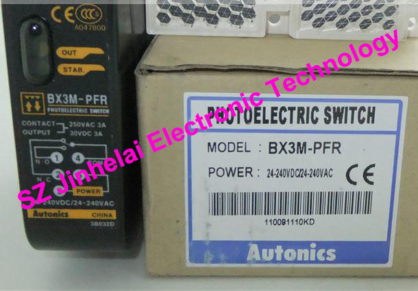 New and original   BX3M-PFR, BX3M-PFR-T  AUTONICS   PHOTOELECTRIC SWITCH original otto nicks autonics photoelectric switch ben3m pfr