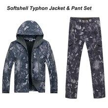 Typhon TAD Men Waterproof Windproof Polyester Coats Jacket Hoody TAD softshell Jacket& pants Mandrake highlander Typhon