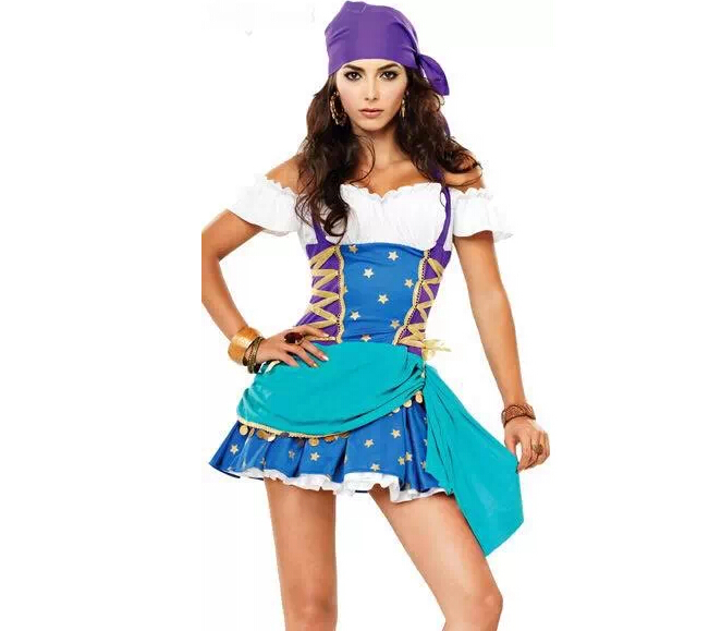 big discount halloween costume adult ladies gypsy maiden costume holiday christmas costumes adult halloween costume in sexy costumes from novelty special