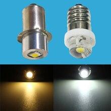 0.5 1W 3W E10 P13.5S LED el feneri ampul lamba 3 V 6V 9V 12V Led ampul yedek el feneri CREE Torch ampul 3 Volt vidalı ampul