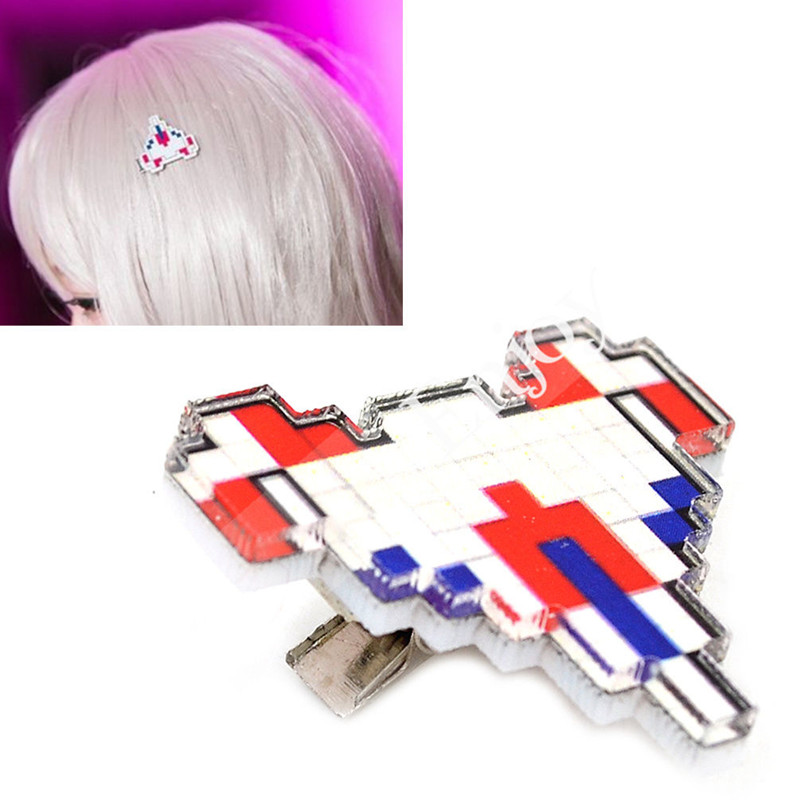 Anime Danganronpa Chiaki Nanami Hair Clip Cosplay Accessories Super Dangan Ronpa Cute Plane Hairpin Props
