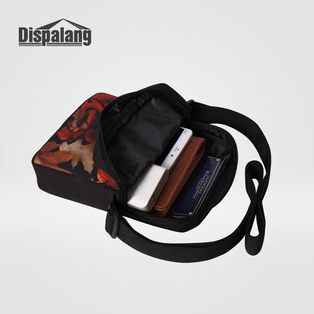 Dispalang Для мужчин Бизнес Портфели сумка 3D след Дизайн мужской Сумки на плечо Для женщин Персонализированные сумка Мини Лоскут
