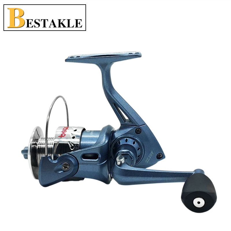 2017 New HOT High Quality Cheapest Spinning Reel Fishing Reel TZ1000 TZ2000 in Blue Black Color Ball Bearing Reels Free Shipping