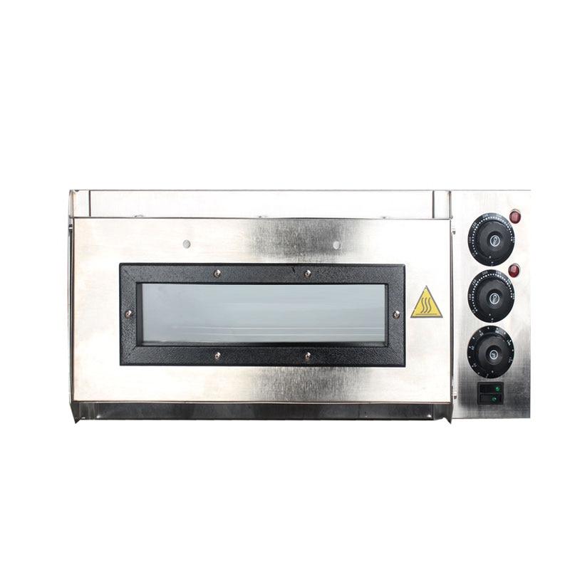 ITOP four à Pizza électrique gâteau rôti poulet Pizza cuisinière en acier inoxydable cuisine commerciale cuisson Machine four rôti Stock - 4
