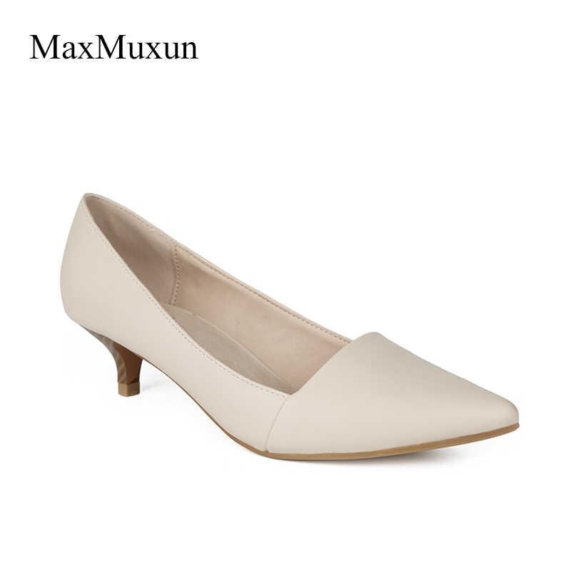 MaxMuxun Women Shoes Smart Formal