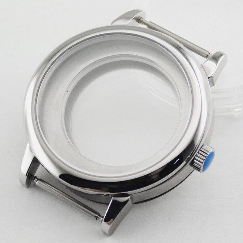 40mm Sapphire Glass watch Case Fit ETA 2836,DG2813/3804,Miyota 82 Series40mm Sapphire Glass watch Case Fit ETA 2836,DG2813/3804,Miyota 82 Series
