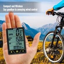 BOGEER беспроводной/проводной велосипедный компьютер велосипедный Спидометр Одометр температура подсветка водонепроницаемость для езды на велосипеде