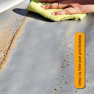 Image 4 - Tela cerata impermeabile in plastica per protezione solare, tela cerata a tre ruote per camion