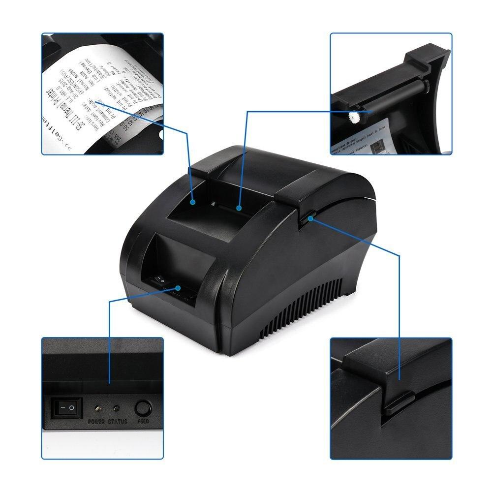 Netum NT-1809DD 58mm bluetooth impressora de recibo