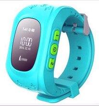 Microwear Q50 GPS Smart Kid Safe Relógio inteligente Chamada SOS Monitor de Localizador Rastreador para Criança Anti Perdido Bebê Filho relógio de pulso