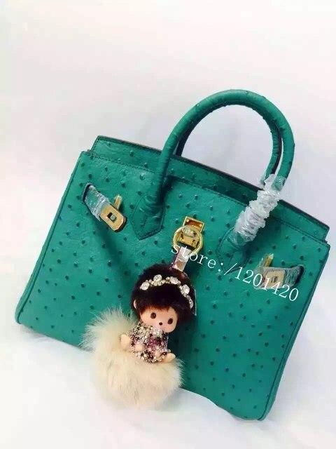 bling Monchichi keychain crystal Monchhichi doll key ring beige furry pom pom ball bag charm bag bug handbag charm girl gift