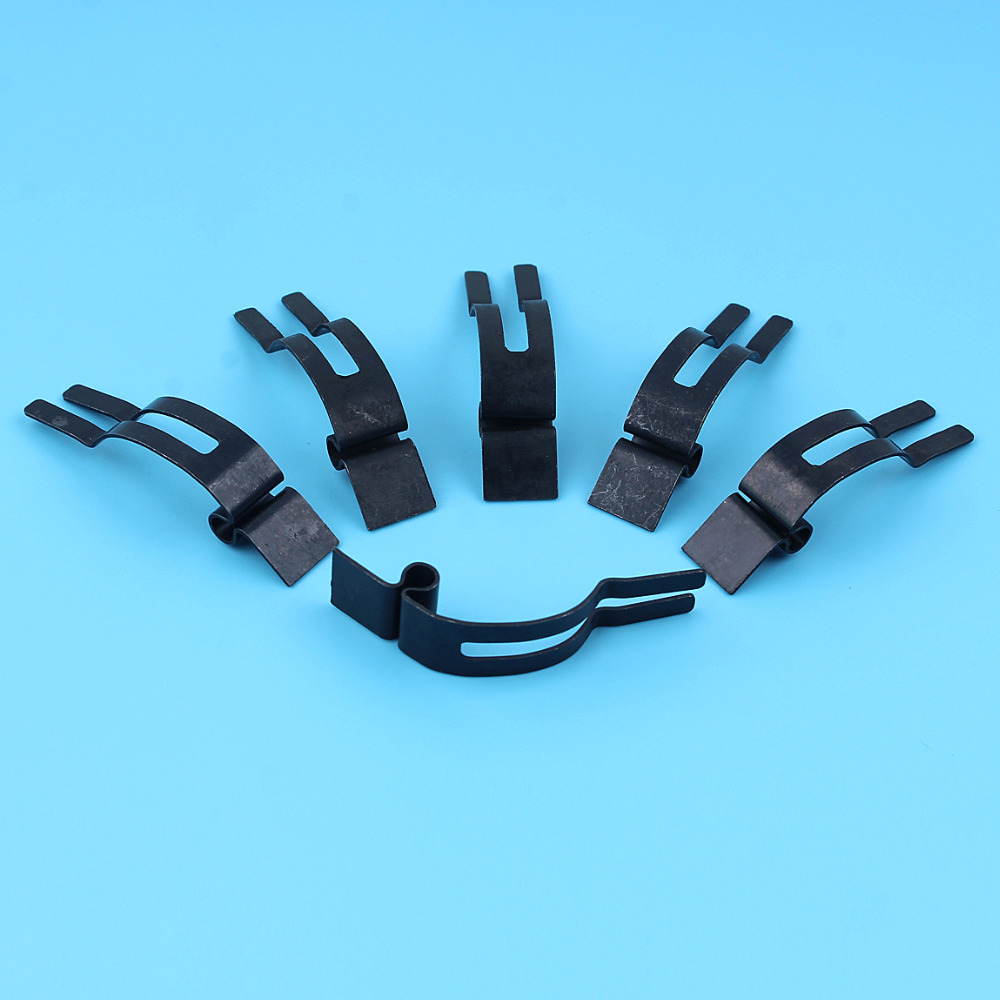 6 X Chain Brake Leaf Control Spring For <font><b>Husqvarna</b></font> 61 66 268 272 50 51 55 136 141 154 394 395 <font><b>40</b></font> 41 42 Chainsaw Replacement Parts image