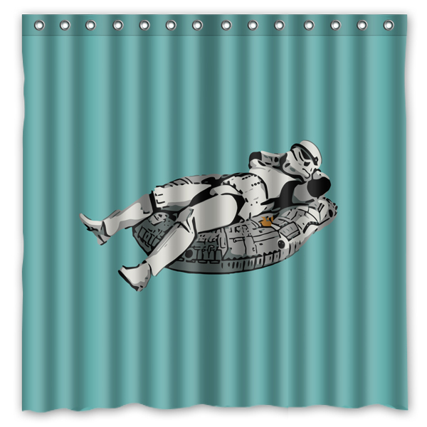 Novelty Bathroom ProductsStar Wars Printed Waterproof Polyester Shower Curtain Bath