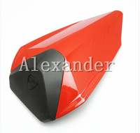 Red Motorcycle Rear Seat Cover Cowl Solo Motor Seat Cowl Rear For Ducati 1199 899 Model 2012 2013 2014 2015 ducati 12 13 14 15