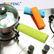 Unique Kitchen Silicone Pot Pan Handle saucepan mitts grip cover Holder Sleeve Slip utensil case Hot Sale kitchen