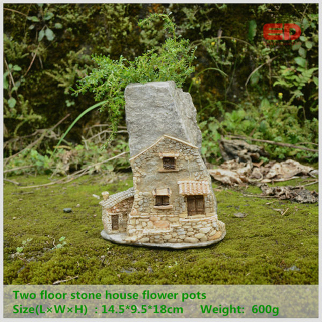 Everyday Collection Fairy Garden House Creative Gnome Cottage Micro ...