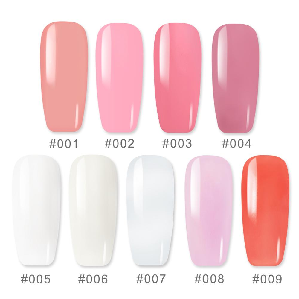 COSCELIA Gel For Nail Extension Set With Tools For French Nail Gel Varnish Brush For Nail Art Gel For Extension Nail Tips in Nail Gel from Beauty Health
