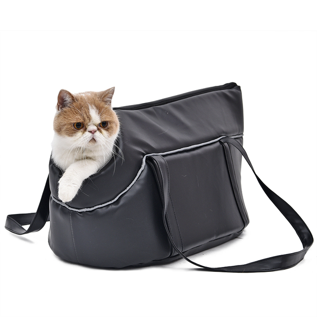 Cat's Dark Grey Waterproof Carrier