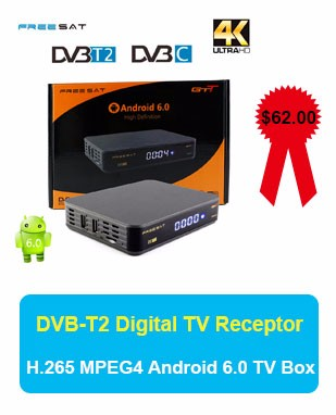 Freesat V7 Combo DVB-S2 DVB-T2 Receptor with One Year Europe 7 Cline Satellite Receiver +USB WIFI DVB-T2 1080p Freesat V7 TV Box