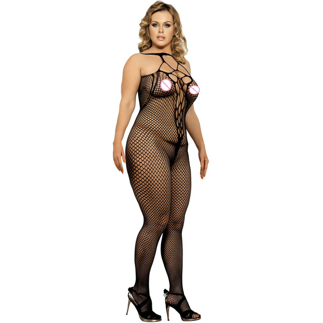 e1c9a81f4 HL3126 New fashion sexy plus size bodystocking hot black color sexy fishnet  bodystocking new popular bodystocking women bodysuit