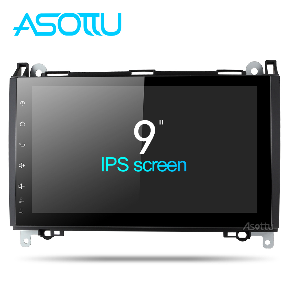 IPS Screen Android 8 1 car dvd gps navigation For Mercedes Benz Sprinter B200 W209 W169