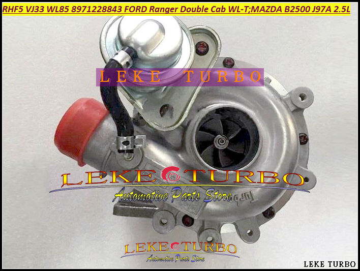 RHF5 VJ33 WL85 VC430090 8971228843 Turbo Turbine Turbocharger For FORD Ranger For Mazda Bravo B2500 1999- WL-T J97A 2.5L 115HP