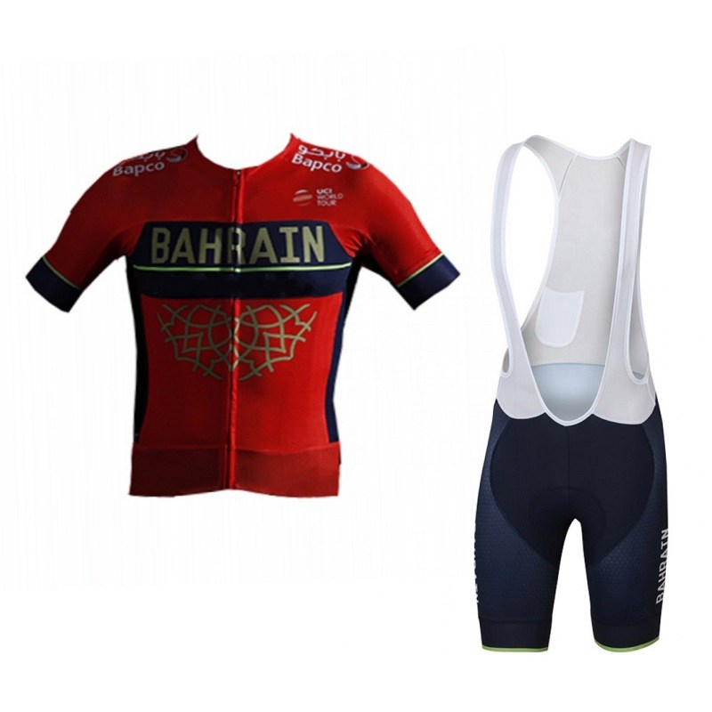 Detail Feedback Questions about 2018 pro team bahrain summer cycling jersey  kits breathable Bicycle maillot MTB bike clothing Ropa ciclismo gel pad on  ... a7d4226fb