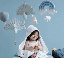 Kids Play Tent Decoration Tent Props Rainbow clouds Newborn Baby Bedroom Decor Hanging Toys children Crib hanging decoration